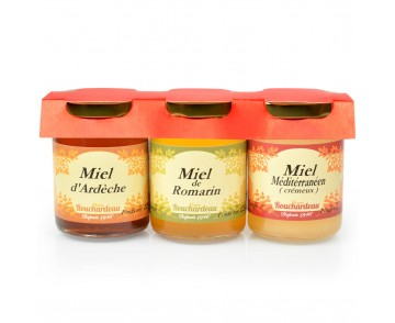 PACK 3 MIELS 125G